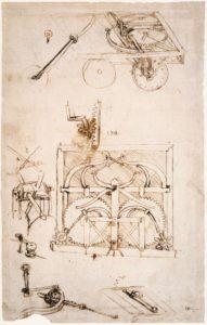 Automóvil de Leonardo da Vinci