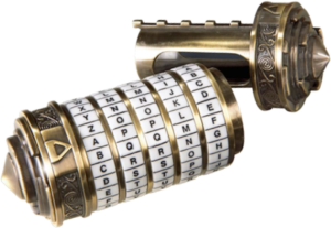 Mini Cryptex The Noble Collection
