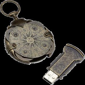 Cryptex USB brújula