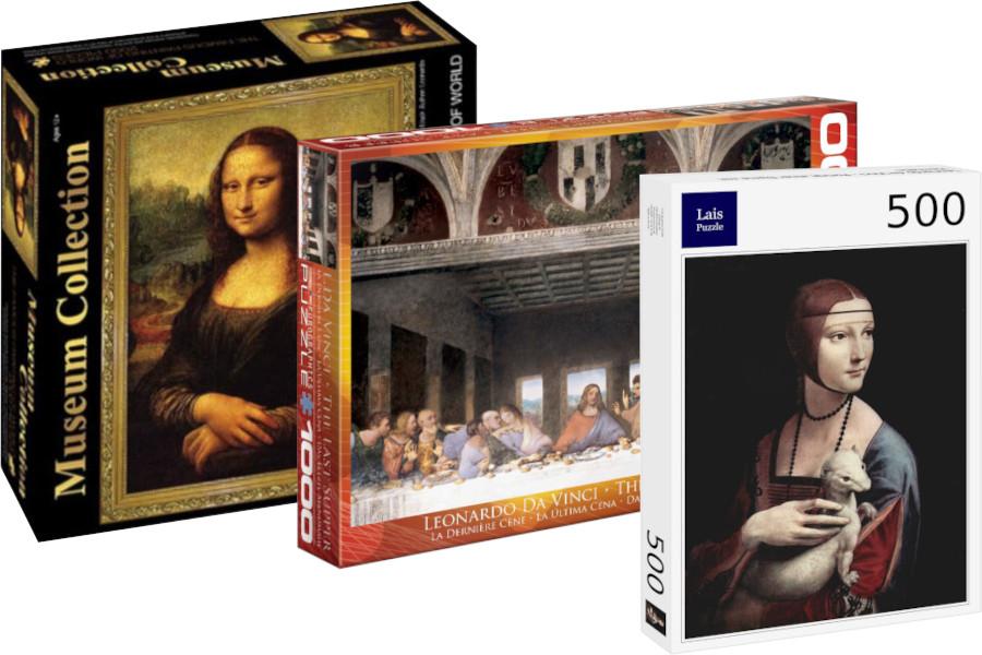 Puzzles de Leonardo da Vinci