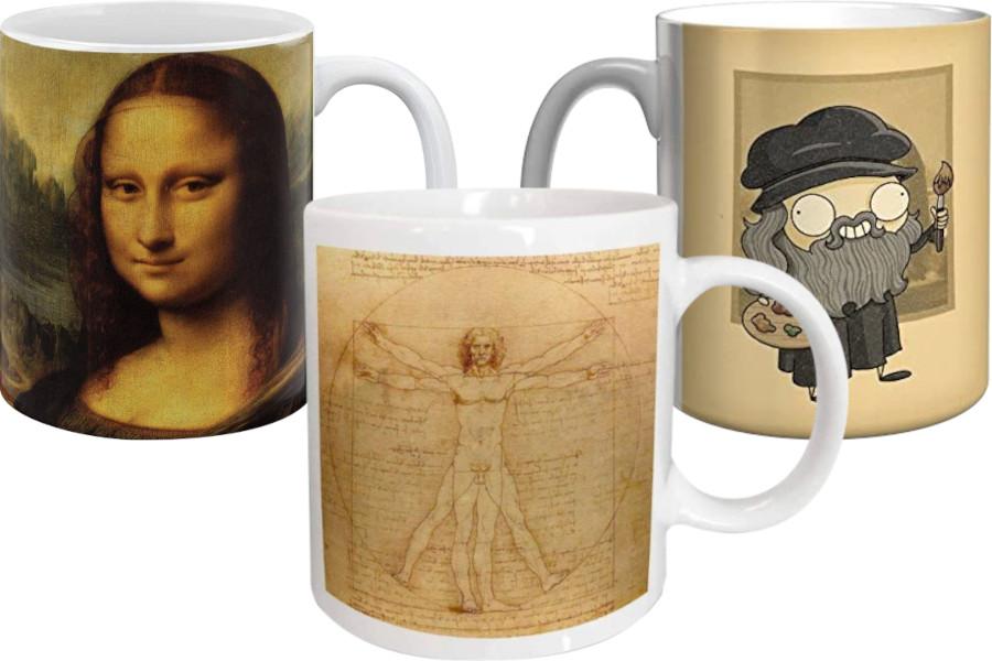 Tazas de Leonardo da Vinci