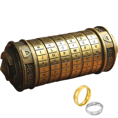Cryptex de bronce Lincman