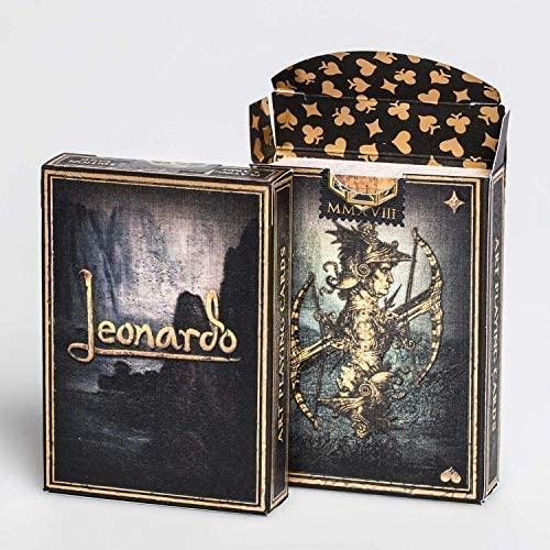 Juego de cartas Leonardo MMXVIII, edición oro