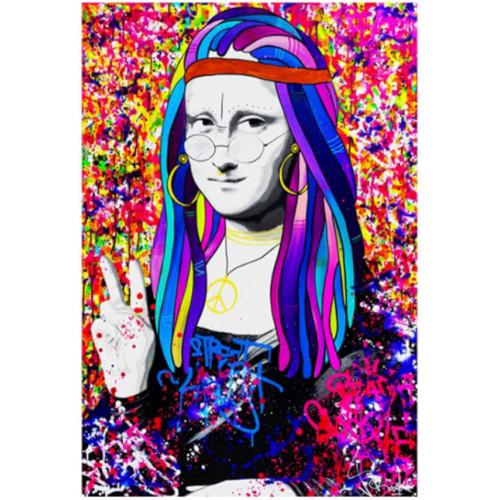 Puzzle de la Mona Lisa Street Graffiti