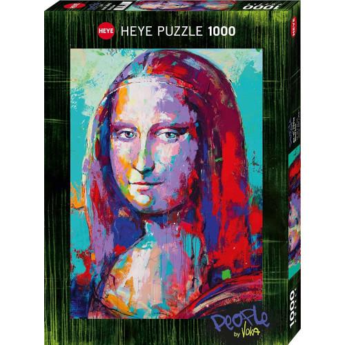 Puzzle de la Mona Lisa by Voka de 1000 piezas Heye