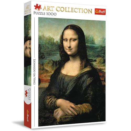 Puzzle de la Mona Lisa de 1000 piezas Trefl