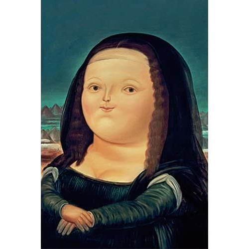 Rompecabezas de la Mona Lisa de Botero