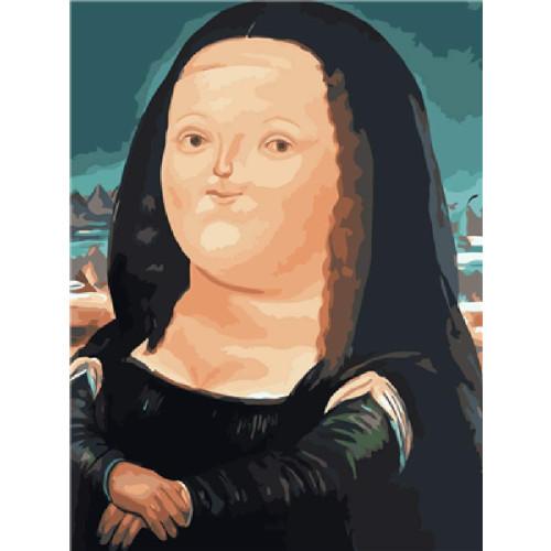 Puzzle de la Mona Lisa gorda de Botero