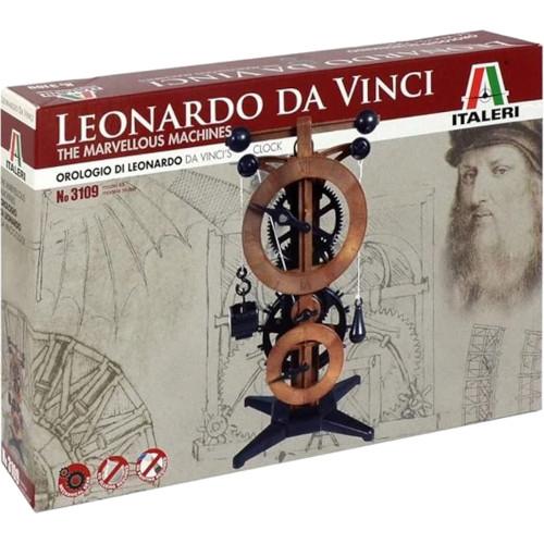 Reloj de Leonardo da Vinci (Italeri)